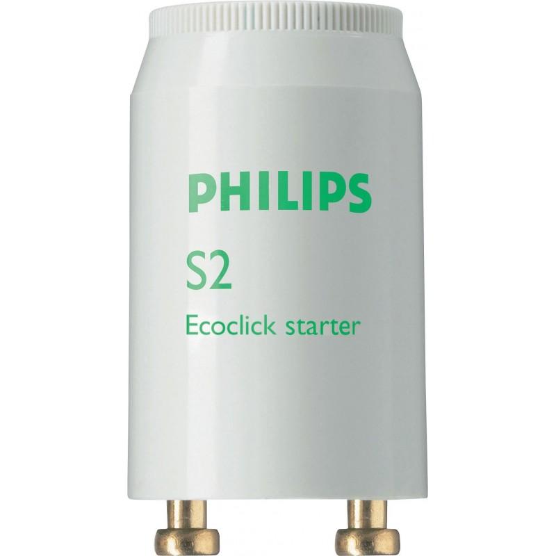 Cebador para tubo fluorescente de 4 a 22w Philips 69750926