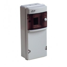 Caja automaticos superficie estanca 4 elementos+zocalo Ide CS4PT