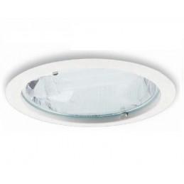 Downlight fluorescente 2x26w blanco con lamparas 840 Secom 429012684BECT
