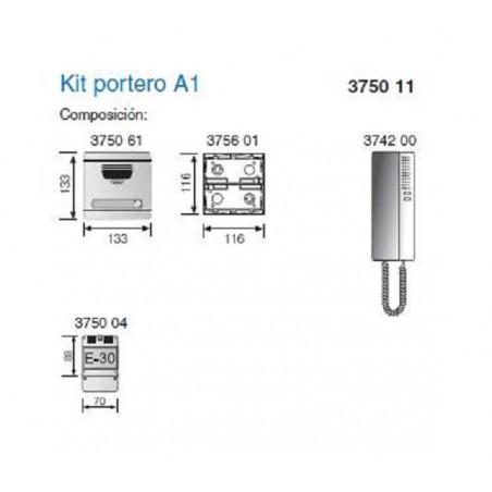 KIT PORTERO 1 LINEA A1 S7 TEGUI 375011
