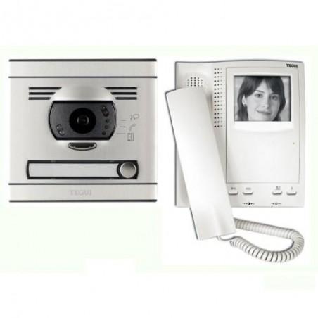 Videoportero blanco y negro 1 linea s7 convencional Tegui 375021