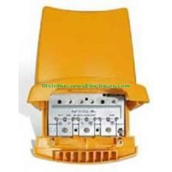 AMPLIFICADOR DE MASTIL 5E/1S BI/BIII-FM-UHF-BIV-BV TELEVES 5359