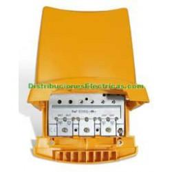 AMPLIFICADOR DE MASTIL 3 ENTRADAS 1 SALIDA TELEVES 5350