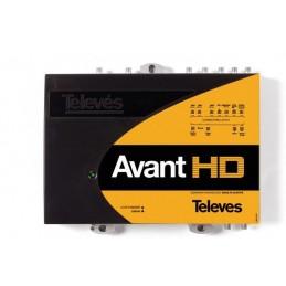 Central amplificadora Avant HD BI/III/DAB-FM-10 UHF-SAT Televes 5328