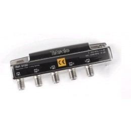 "REPARTIDOR 4D ""F"" 5-2400 7,5/9,5db TELEVES 5152"
