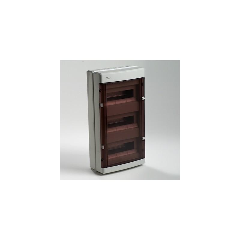 Caja automaticos superficie estanca 36 elementos Ide CD39PT