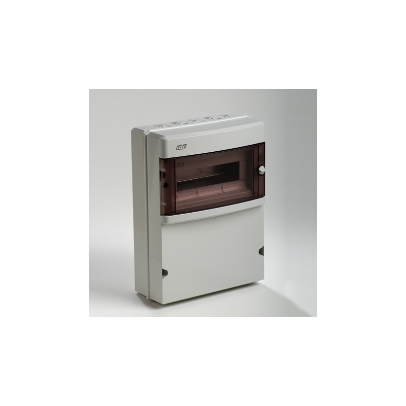 Caja automaticos superficie estanca 12 elementos+zocalo Ide CS13PT