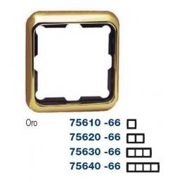 Marco 3 elementos oro Serie 75 Simon 75630-66