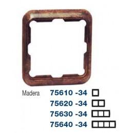 Marco 4 elementos madera Serie 75 Simon 75640-34
