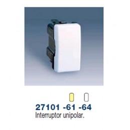 INTERRUPTOR UNIPOLAR ESTRECHO MARFIL SIMON 27101-61