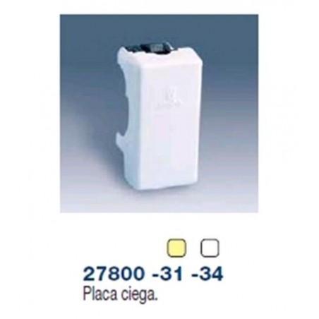 TAPA CIEGA ESTRECHA MARFIL SIMON 27800-31