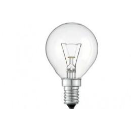 LAMPARA ESFERICA CLARA E14 25W 230V