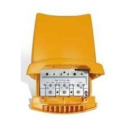 AMPLIFICADOR DE MASTIL 4E 1S BI-BIII/FM/UHF/UHF (24V) 25-38db TELEVES 535802