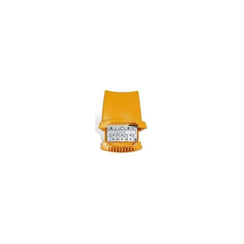 Amplificador mastil 4 Entradas 1 Salida BI-BIII/FM/UHF/UHF (24V) 25-38db Televes 535802