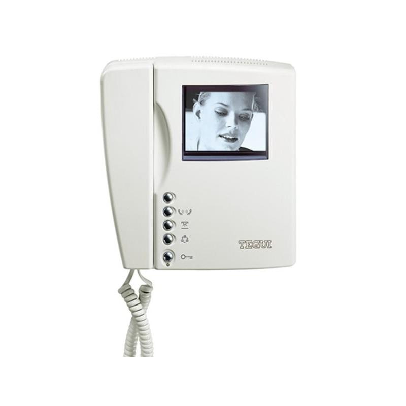 Monitor blanco y negro 2 hilos Swing Tegui 374460