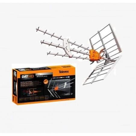 ANTENA TDT UHF DAT HD BOSS TECH MRD INTELIGENTE 29dB TELEVES 149501