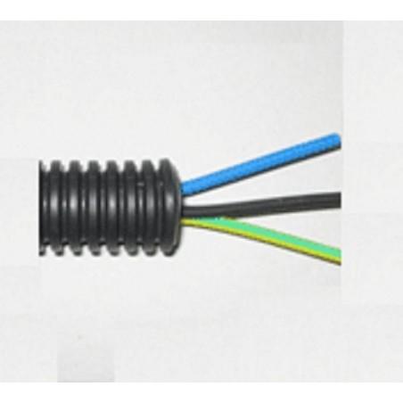 TUBO PRECABLEADO 20mm + CABLE RIGIDO 750V 5x1.5mm2 A+N+T+M+M H07V-U (ROLLO 50 MTS)