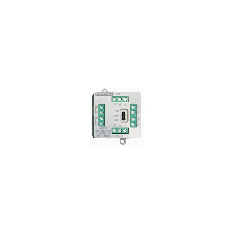 Mini distribuidor de video 4 salidas Fermax 3262