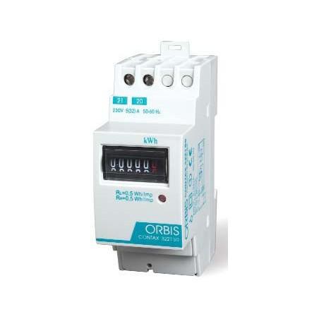 CONTADOR MONOFASICO DE ENERGIA 230V 32AMP  ORBIS CONTAX 3221 S0