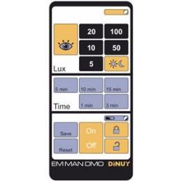 Mando EM MAN DM0 para detectores de movimiento Dinuy IR por control remoto