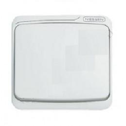 Tecla interruptor conmutador cruzamiento blanca Niessen 8701BA