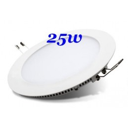 DOWNLIGHT LED 25W EMPOTRAR COLOR BLANCO LUZ FRIA 6000K CIFRALUX 102320FB