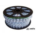 TUBO LUMINOSO BLANCO MOVIMIENTO 2 HILOS FLEXILIGHT BOBINA 45 MTS
