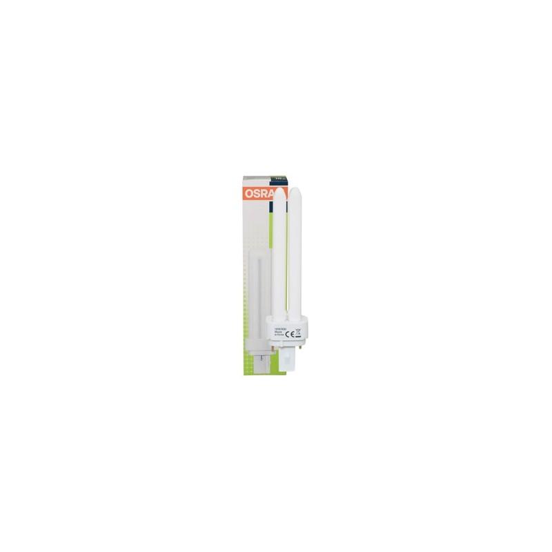 Bombilla bajo consumo G24 26W 840 Luz Blanco Neutro Osram Dulux D