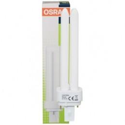 Bombilla bajo consumo G24 26W 827 Luz Blanco Calido Osram Dulux D