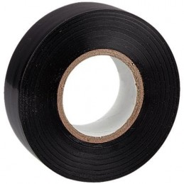 Cinta aislante adhesiva negra 20m x 19mm