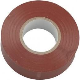 CINTA AISLANTE MARRON PVC ROLLO 20 MTS