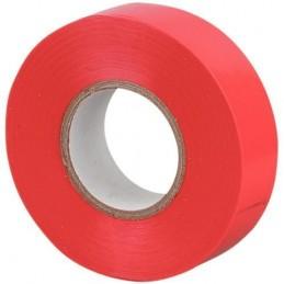 CINTA AISLANTE ROJA PVC ROLLO 20 MTS