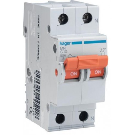 MAGNETOTERMICO 1P+N 32A MN532V HAGER