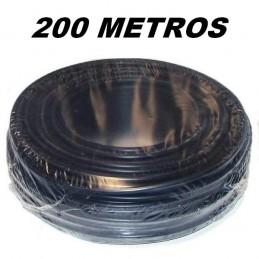 Cable flexible 1x2.5mm2 negro libre halogenos 750v 200 Metros