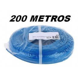 Cable flexible 1x2.5mm2 azul libre halogenos 750v 200 Metros