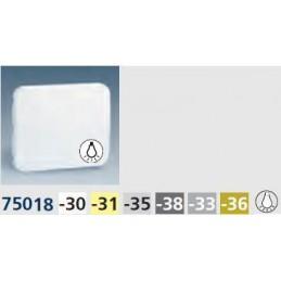 Tecla pulsador luz ancha gris Serie 75 Simon 75018-35