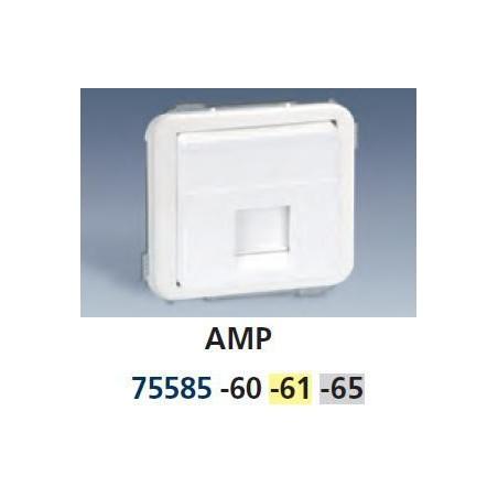 TECLA ANCHA MARFIL PARA 1 CONECTOR RJ45 SIMON 75585-61