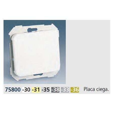 TAPA CIEGA ANCHA GRIS SIMON 75800-35