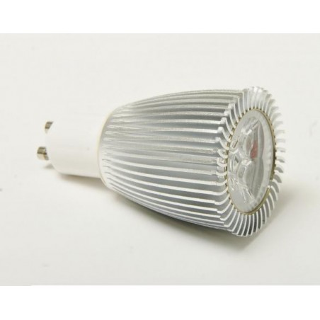 LAMPARA DICROICA LED 9W GU10 230V 60º DICROICA BLANCO FRIO 6000K 560LM SOLBRIGHT 1027