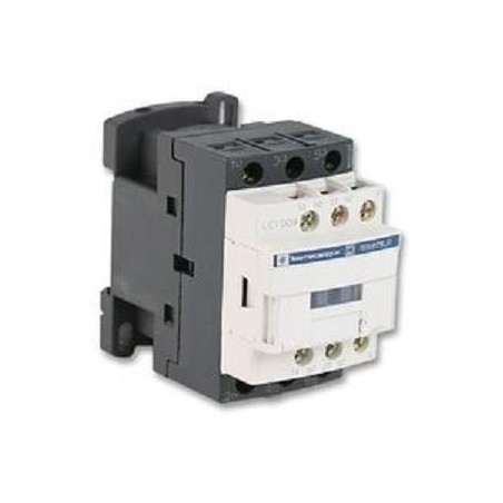 CONTACTOR 3 POLOS 9 Amp 1NA 1NC 24-48-230 Y 400V TELEMECANIQUE LC1-D09P7