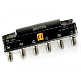 "PAU-REPARTIDOR 4D ""F"" 5-2400 7,5/9db TELEVES 5154"