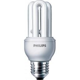 Bombilla fluorescente bajo consumo 11W 230V E27 2700K Luz Blanco Calido Philips 80119710