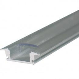 1 Metro Perfil aluminio empotrar Tiras Led Agfri 15251