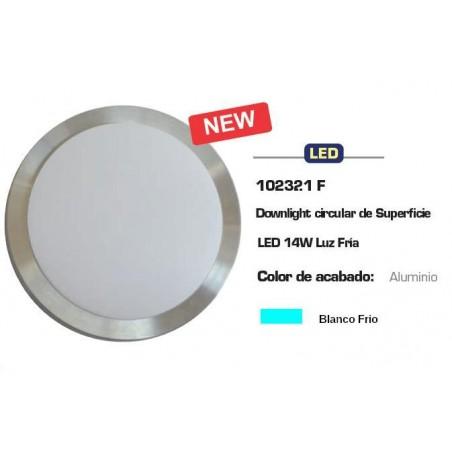 DOWNLIGHT LED SUPERFICIE 14W LUZ BLANCO FRIO CIFRALUX 102321