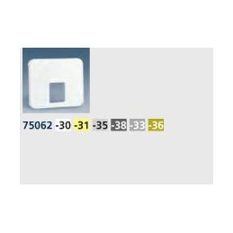 Tecla toma telefono ancha aluminio mate Serie 75 Simon 75062-33