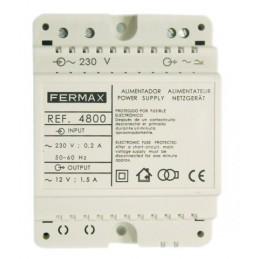 Alimentador 230Vac 12Vac 1.5Amp Fermax 4800