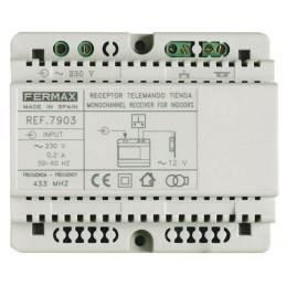 Receptor para control de accesos carril DIN Fermax 7903
