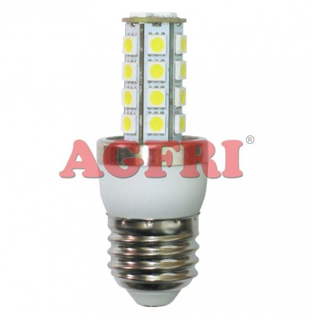 LAMPARA PANOCHA LED 5W 230V E27 450LUM LUZ BLANCO CALIDO 2900-3100K AGFRI 4033