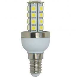 Bombilla led panocha 5w 230v e14 475lum luz blanco frio 5850-6150k Agfri 4041