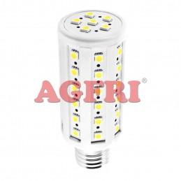Bombilla led panocha 7w 230v e27 705lum luz blanco natural 4100-4500k Agfri 4072